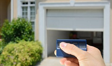 remote garage door